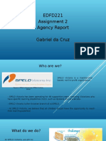 gabriel  da cruz s00147190 agency report - rubric