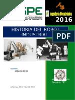Historia Robot Industrial
