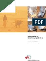 SOLARKOCHER IN ENTWICKLUNGSLÄNDERN - German