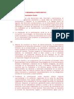 Democratización y Desarrollo Participativo