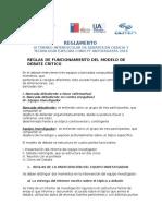 Reglamento III Torneo Interescolar de Debates 2016 Revisado
