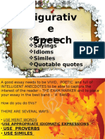 Figurative Speech in Writing