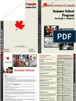 Summer School Brochure 2010 (Eng)
