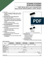 datasheet ST62T09C.pdf
