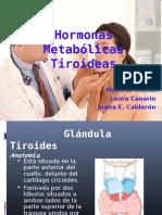 FISIOLOGIA DE LA TIROIDES