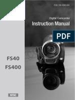Canon Fs40 Fs400 Im n En