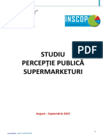 Perceptia Publica Supermarketuri