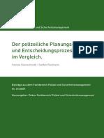 Der Polizeiliche Planungsundentscheidungsprozess