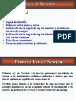 2a. Ley de Newton