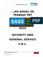 Plan Anual de Seguridad y Salud en el Trabajo 2015
