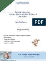 1-Curso Sandra Madormo- Natacion Psicomotora.