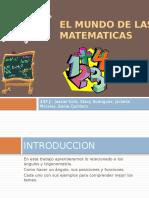 El Mundo de Las Matematicas 11j
