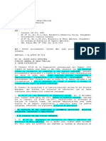Ordenanza 964 Define procedimiento Interno MOP, para procesos de Consulta Indígena.
