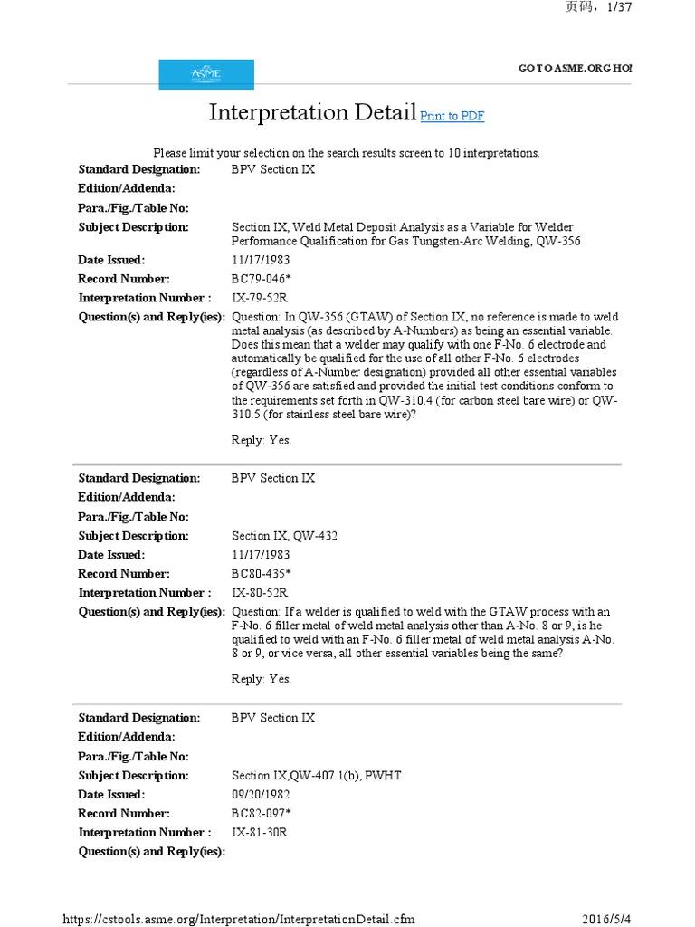 Asme p numbers pdf