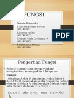 Kalkulus Fungsi, Jenis-jenis Fungsi, Operasi Fungsi