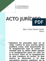 Acto Jurídico -Clase 1