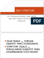 Sign and Symptom