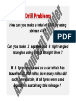 Drill Problems