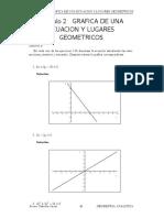 Capitulo 02 Grafica de Una Ecuacion y Lugares Geometricos