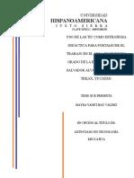 Lte-hau Mayra (2013) Uso de Las Tic Como Estrategia Didactica Para Fortalecer El Trabajo en El Aula -Rev