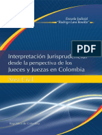 Interpretacion Judicial Civil