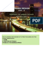 Urban Design Vocabulary