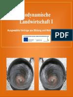Sammelband Biodynamische Landwirtschaft I