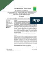 Analisis Ketimpangan Pendapatan Dan Pengembangan Sektor Unggulan Di Kabupaten Dalam Kawasan Barlingmascakeb Tahun 2007-2010
