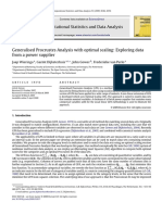 Generalised Procrustes Analysis With Optimal Scaling Exploring Data From a Powe Supplier