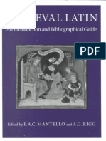 116062164 Medieval Latin an Introduction and Bibliographical Guide