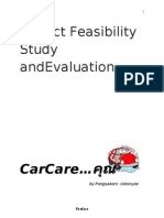 Project Feasibility Study And Evaluation
