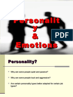 Personality Final