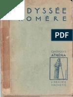 L_odyssee D_homere GRE 1939 KLAERR