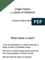 single factor ppt