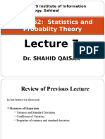 Lecture 9 Moments