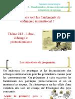Correctionthème 212 - Libre-échange Et Protectionnisme
