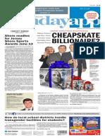 Asbury Park Press front page Sunday, May 22 2016