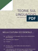 3. Teorie Sul Linguaggio Dal Mondo Greco Al Medioevo
