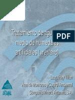 Modulo 14. Tratamiento de Agua Por Medio de Humedales Artificiales Quebrada Tucush