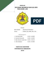 Kas, Giro Pada Bank Indonesia MAKALAH KEL 10