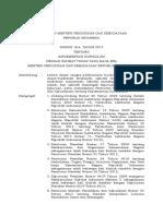 Salinan Permendikbud Nomor A Tahun  Tentang Implementasi Kurikulum Garuda Pdf