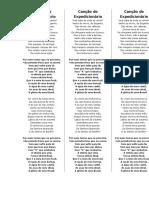Canção do Expedicionário (3 por página)