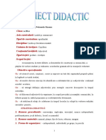 Proiect didactic - Adjectivul