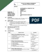 CHE515 - Lesson Plan_Mar 2015 - July2015