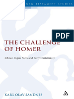K.O. Sandnes-The Challenge of Homer_ School, Pagan Poets and Early Christianity (2009)