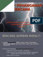 Prinsip Penanganan Bencana