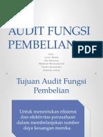 Audit Fungsi Pembelian