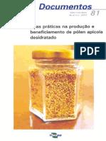 Boas práticas na produção e beneficiamento de pólen apícola desidratado.pdf