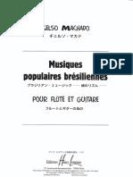 Machado Musique Populaire Bresiliennes I