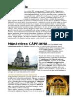 Mănăstirile